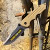 "7.5 "" Sniper Green Folding Spring Assisted Knife with Belt Clip"